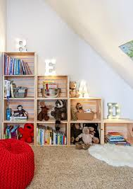 Kids Reading Nook With Bookshelves