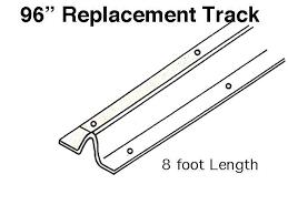 replacing sliding door track