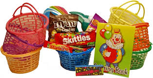 picture of child s mini basket of fun gift basket