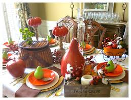 Fall Table Scapes Fall Tablescape 2 Bees In A Pod