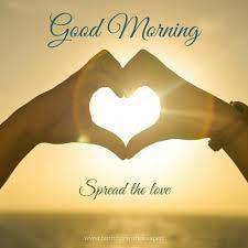 good morning spread the love