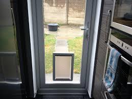 cat flap in double glazed patio door elegant dog flap for glass door choice image doors