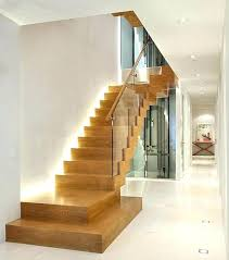 wood staircase design ideas interior stair lighting with modern wooden stairs35 wood