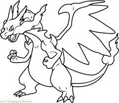 Mega Charizard X Drawing Free Download Best Mega Charizard X