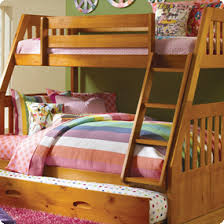 Mission Bedroom Furniture Discovery World Furniture Honey Twin Over Full Mission Bunk Bed