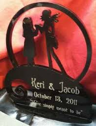nightmare before christmas wedding - engraved....hmm could i get away with