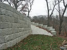 recon gravity retaining walls