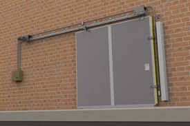 in addition to being blast resistant our sliding doors can also be fire rated this eliminates the need for an additional fire door on the opposite side of