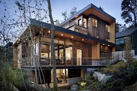 wood strip siding is versatile in its style applications it can create a rustic modern house l89
