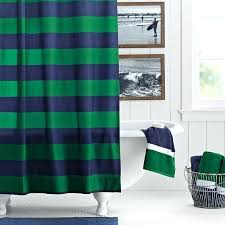 rugby curtain rugby stripe shower curtain navy green rugby curtain navy and white horizontal stripe