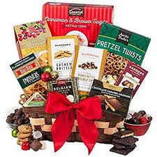 xmas gift baskets. Brilliant Xmas Christmas Gift Basket Classic In Xmas Baskets Amazoncom
