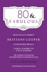 80th Invitation Templates Magdalene Project Org