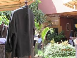 Restaurant Coat Racks Allweather coat racks Picture of Piato Restaurant Kampala 52