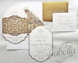Elegant Invitation Cards Isabella Invitations An Elegant Custom Invitations Design