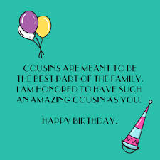 Happy Birthday Cousin Quotes Top Happy Birthday Wishes