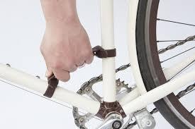 walnut studiolo bike frame handle