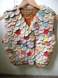 Yo Yo Quilts History Vintage Quilt Appliquac Vest Yoyo Design By ... & Yo Yo Quilts History Vintage Quilt Appliquac Vest Yoyo Design By Lesaet On  Etsy 3900 Adamdwight.com