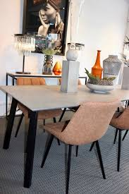 floorstock toyko ceasarstone rugged concrete table at moss furniture