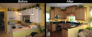 Redoing A Small Kitchen Remodeling A Small Kitchen On A Budget White Palet Cabinet Yellow