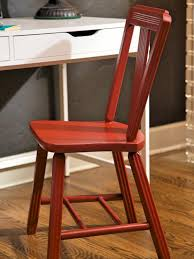 how to strip and repaint a wood chair