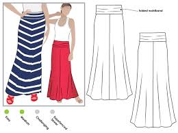 Long Skirt Patterns Amazing Imogen Knit Skirt Style Arc