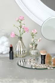 ... Silver Stem Glass Vase
