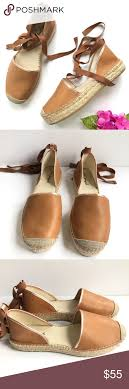 Free People Paradise Espadrille Lace Up Flats 10 Brand Free