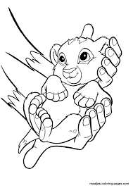 Small Picture Lion King coloring pages The Lion King Pinterest Lions