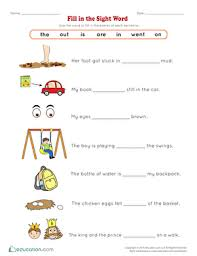 These worksheets help your kids learn to recognize common words or sight words part of a preschool and kindergarten worksheet collection from k5 learning. Sight Words Worksheets Free Printables Education Com