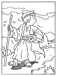 Kleurplaat Jacob Bijbelse Figuren Kleurplatennl