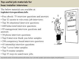 free pdf download 10 top useful job materials for hvac installer - Hvac  Installer Job Description