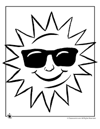 Small Picture Sun Coloring Page Woo Jr Kids Activities