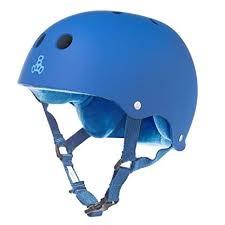 Triple 8 Brainsaver Size Chart Triple 8 Sweatsaver Liner Skateboarding Helmet Royal Blue Rubber L