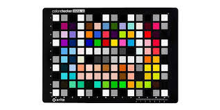 Gretagmacbeth Colorchecker Chart Digital Sg Colorchecker X Rite
