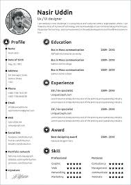 Contemporary Resume Templates Amazing Modern Resume Template Free Download Example Of Modern Resume