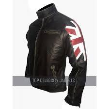 cafe racer uk flag motorcycle jacket