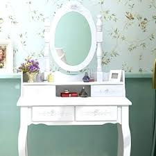 glass makeup table stool vanity with small and white dressing desk 4 kitchen scenic