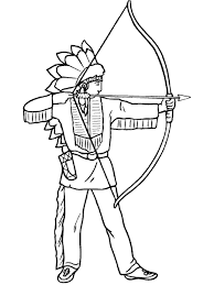 Small Picture Indians Coloring Pages