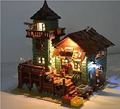 lego lighting. Brickled Lighting Kit For LEGO Ideas Old Fishing Store 21310 ( Lego Set Not Included) T