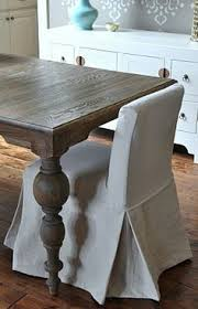 really fancy method of making drop cloth parson slipcover d and matching existing seams with beautiful skirt and trim piece isabella max rooms