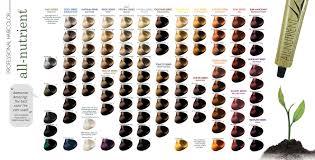 All Nutrient Hair Color Chart Hairsjdi Org