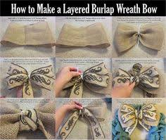 Wired Ribbon Bows for Wreaths