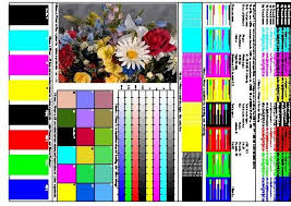 Small Picture Color Printer Test Page Pdf to Inspire to color pages Cool
