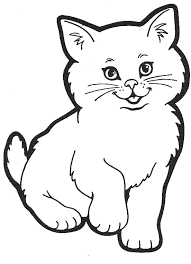 Small Picture Coloring Pages Of Cat FunyColoring