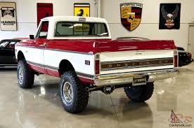 Chevrolet Cheyenne C-10, show truck, restored, short box, red