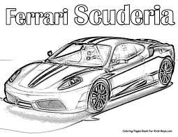 Small Picture auto coloring scuderia ferrari car colouring pages supercar