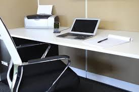 modern desk tan cube