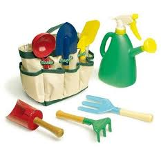children s 8 piece garden tool bag set