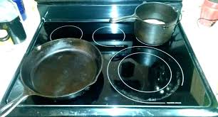 cast iron glass cooktop cast iron for glass can i use cast iron on glass can