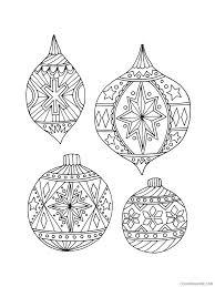 Mandala christmas tree ornaments coloring pages. Christmas Ornaments Coloring Pages Christmas Ornament 18 Printable 2020 231 Coloring4free Coloring4free Com